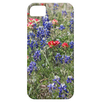 Texas Bluebonnets & Indian Paintbrush Wildflowers Case For iPhone 5/5S