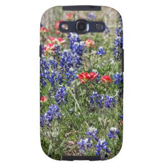 Texas Bluebonnets & Indian Paintbrush Wildflowers Galaxy SIII Case