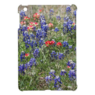Texas Bluebonnets & Indian Paintbrush Wildflowers Case For The iPad Mini