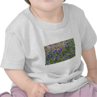 Texas Bluebonnets & Indian Paintbrush Wildflowers Tshirt