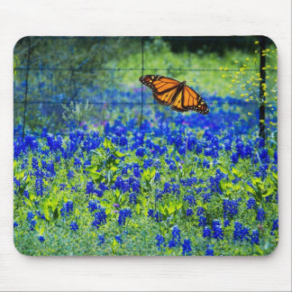Texas Bluebonnets Mouse Pad