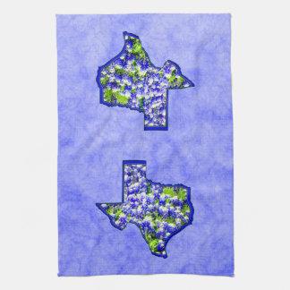 TEXAS BLUEBONNETS KITCHEN TOWELS