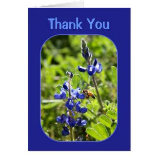 Texas Bluebonnets Thank You Card