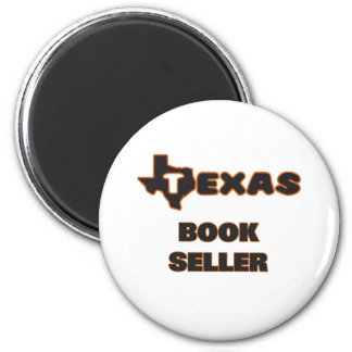 Texas Book Seller 2 Inch Round Magnet