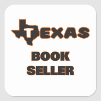 Texas Book Seller Square Sticker