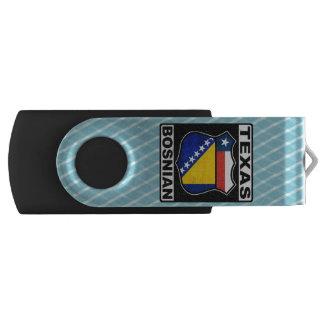 Texas Bosnian American Swivel USB 2.0 Flash Drive