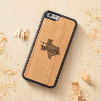 Texas Carved Cherry iPhone 6 Bumper Case