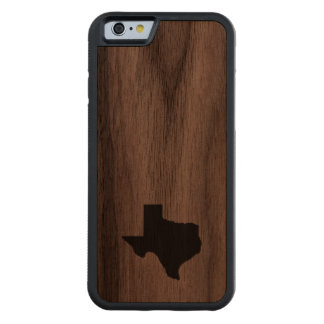 Texas Carved Walnut iPhone 6 Bumper Case