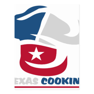 Texas Cooking Postcard