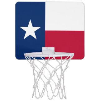 Texas flag mini basketball hoop