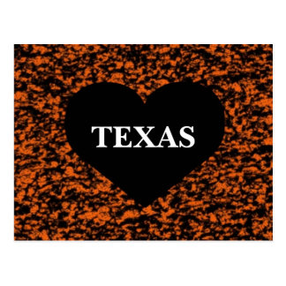 Texas Heart Postcard