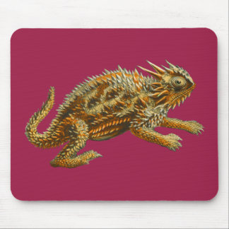 Texas Horned Lizard Mouse Pad