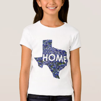 Texas is Home girls top T Shirts