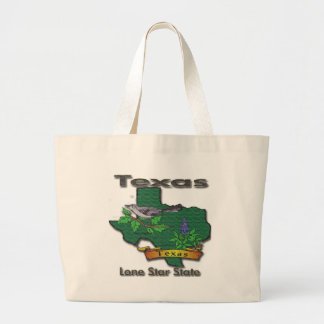 Texas Lone Star State Bird Flower Tote Bags
