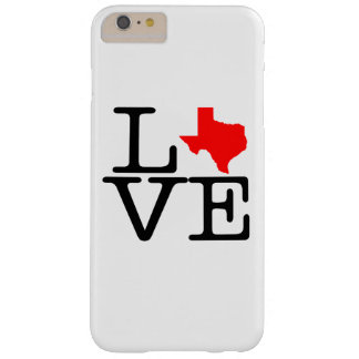 Texas Love Barely There iPhone 6 Plus Case