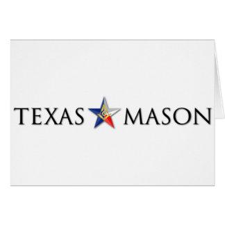 Texas Mason Card