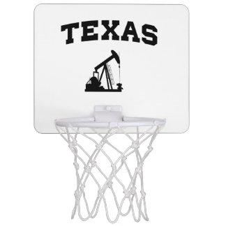 Texas Oil Pump Mini Basketball Hoop
