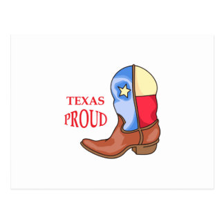 TEXAS PROUD POSTCARD