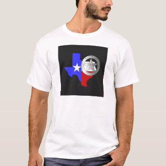 Texas Ranger Tea Party - Black T-Shirt