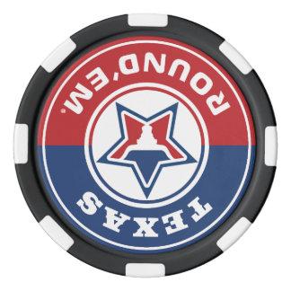Texas Round'em® Chip Set