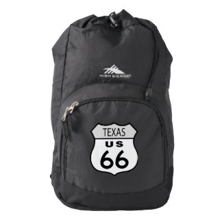 Texas Route 66 Sign Backpack