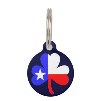 Texas Shamrock Pet Tag