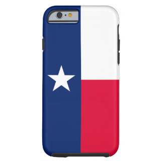 Texas State Flag Design Decor Tough iPhone 6 Case