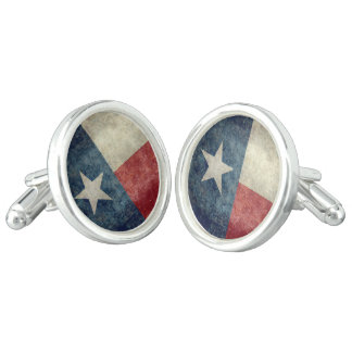 Texas state flag vintage retro style Cuff Links