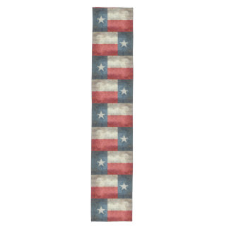 Texas state flag vintage retro style Table runner