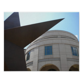 Texas State Star & Texas State Museum Poster