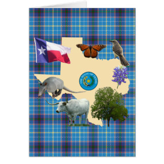 Texas State Symbols Greeting Cards
