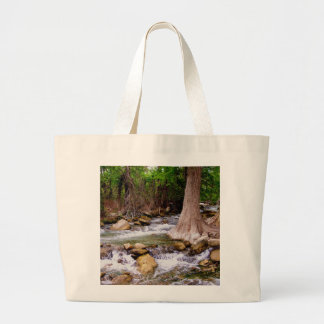 Texas Stream Large Tote Bag