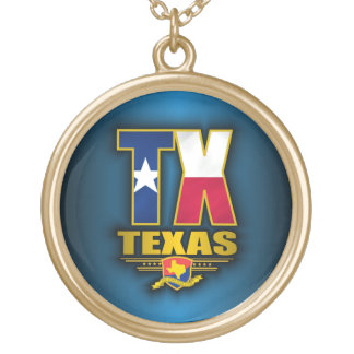 Texas (TX) Gold Plated Necklace