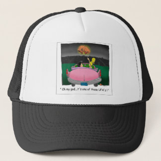 Texas UFO? Funny Tees, Gifts & Collectibles Trucker Hat