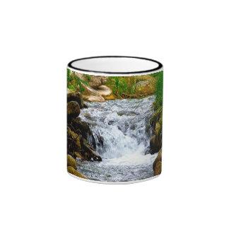 Texas Waterfall Ringer Mug