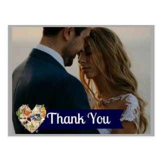 Texas Wedding Thank You Postcard