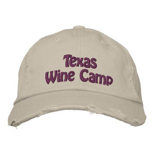 Texas Wine Camp Cap Baseball Cap