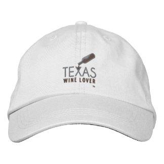 Texas Wine Lover Adjustable Hat Baseball Cap