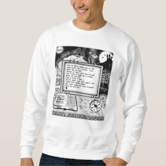 """Text Adventures (A) """"Labyrinth & Crayon"""" Pullover Sweatshirts"""