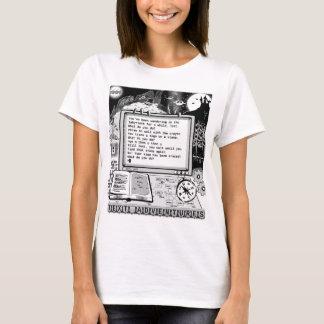"Text Adventures (A) ""Labyrinth & Crayon"" T-Shirt"