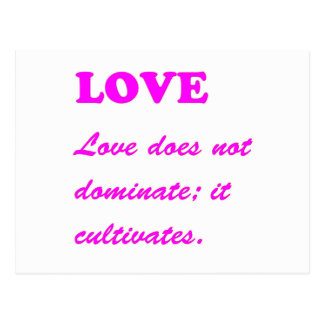 text LOVE Romance Sensual Pure Hearts LOWPRICES Postcard