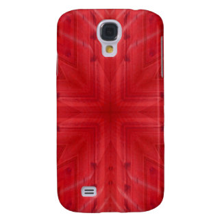 Texture Red wood pattern Galaxy S4 Case