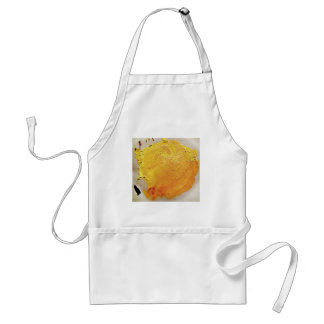 Texture yellow paint stain standard apron