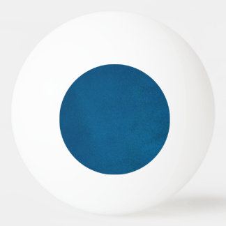 Textured Deep Ocean Blue Ping Pong Ball