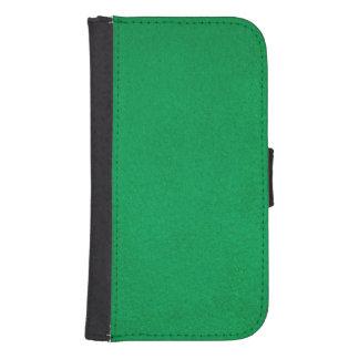 Textured Emerald Samsung S4 Wallet Case