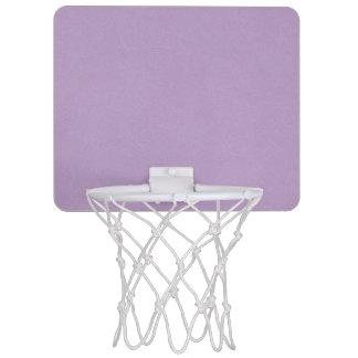 Textured Light Purple Color Mini Basketball Hoop