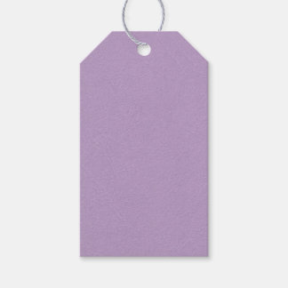 Textured Light Purple Colour Gift Tags