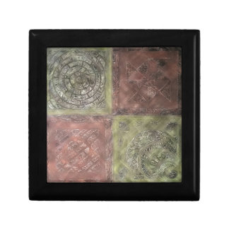 Textured Squares Gift Box