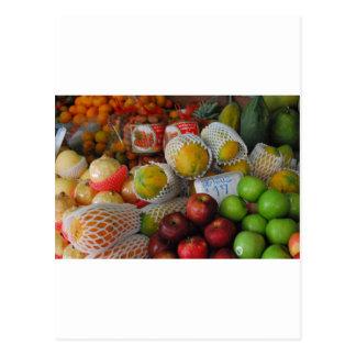 Thai Fruit Postcard