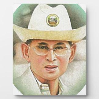 Thai King Bhumibol Adulyadej - ภูมิพลอดุลยเดช Photo Plaque